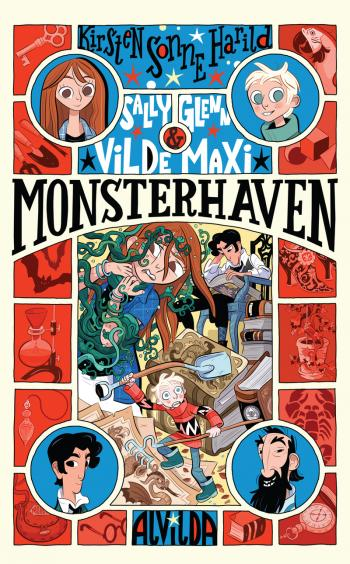 Sally, Glenn og vilde Maxi 3: Monsterhaven