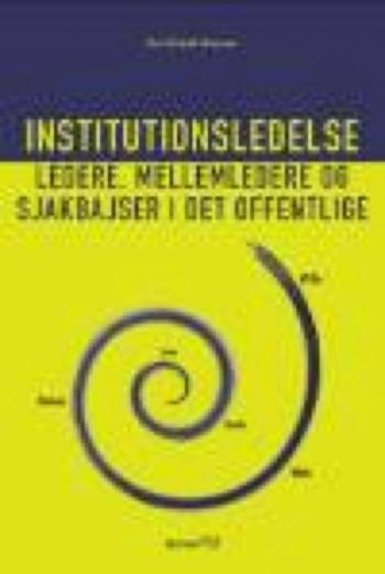 Institutionsledelse