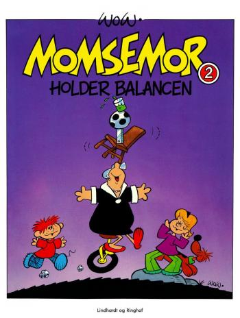 Momsemor holder balancen